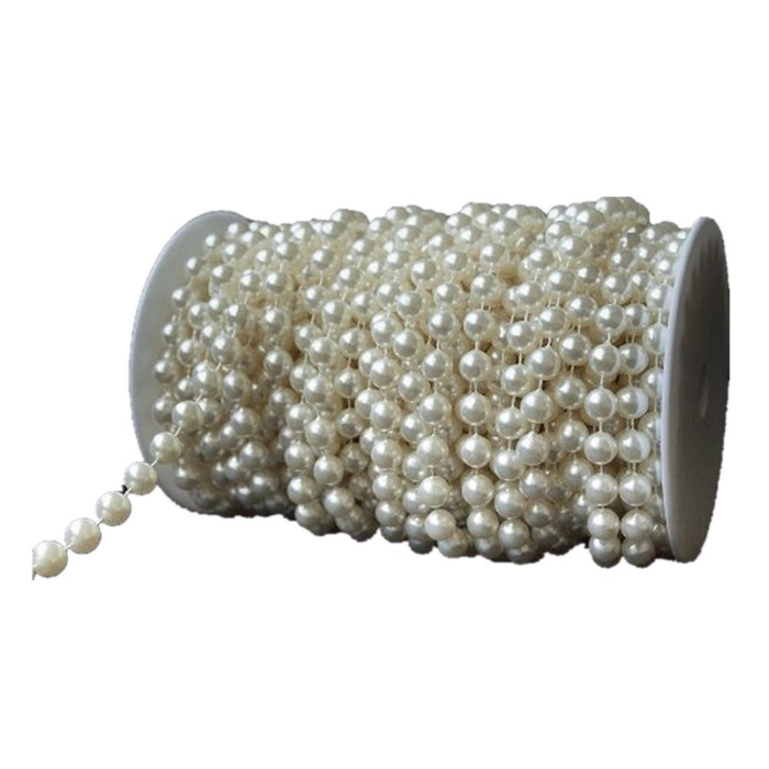ivory pearl strands roll for necklaces decorating