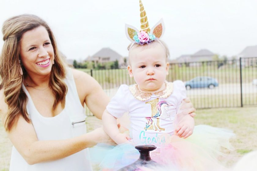 Twin Girls Unicorn Party First Birthday Party Unicorn Birthday Party Ideas
