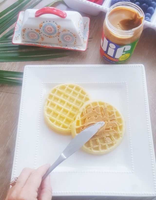 Eggo Waffle Bar