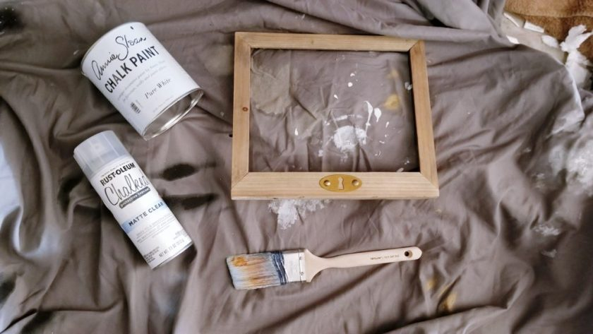 Be Our Guest Wifi Frame DIY Tutorial