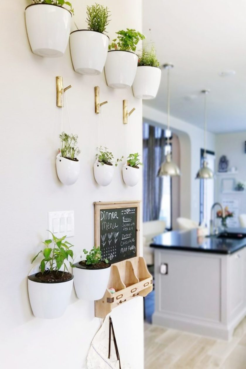 How to make a beautiful decorative floating plant wall » We\'re The ...
