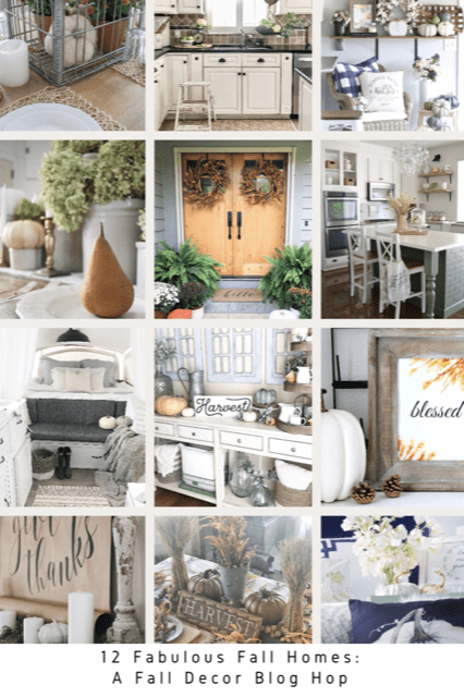 How To Decorate For Fall With Non Traditional Color Palettes Were - Fall-home-decorating-ideas