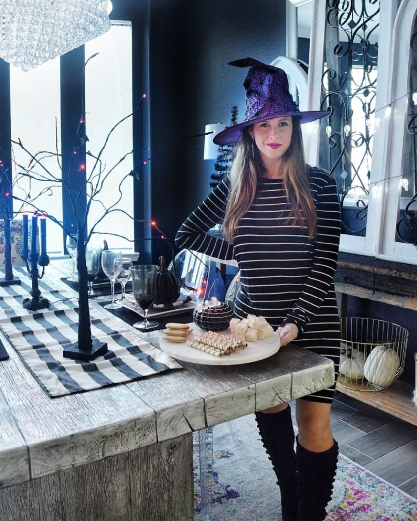 How To Throw A Haunted Halloween Dinner Party We Re The Joneses