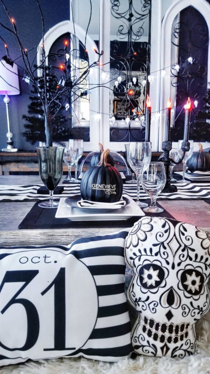 Halloween Dinner Party Ideas.How To Throw A Haunted Halloween Dinner Party We Re The