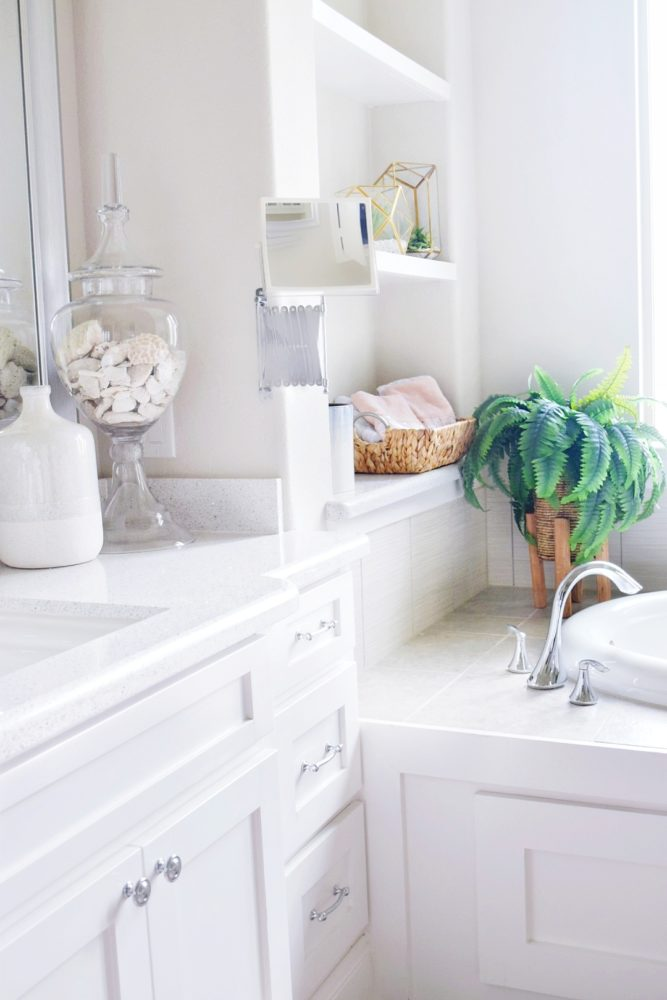 Beautiful Master Bathroom Refresh On A Budget How To Decorate Bathroom Tips  And Ideas For Affordable