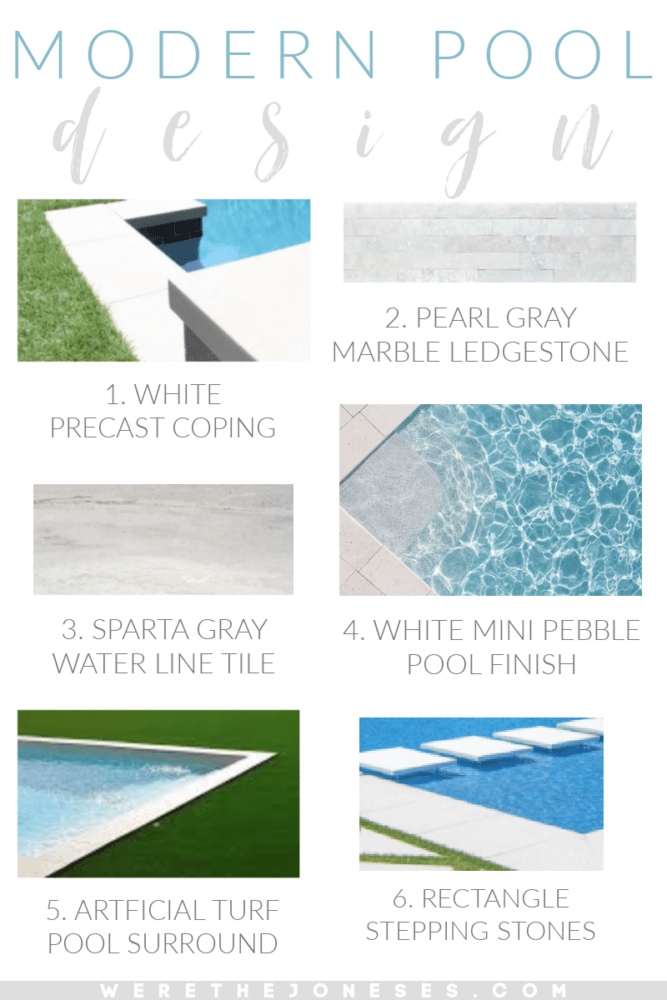 choosing our swimming pool finishes