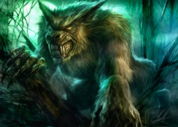 Werewolf Speed-Painting Video featured image