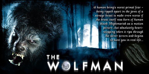 Halloween Horror Nights - The Wolfman