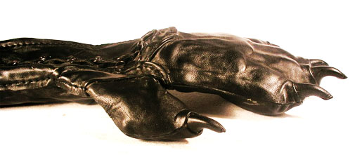 Leather Paw Gloves