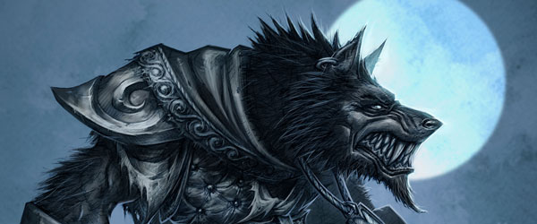 World of Warcraft - Worgen Concept Art 1