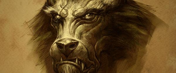 World of Warcraft - Worgen Concept Art 3
