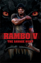 Rambo V one-sheet