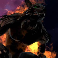 Champions Online - Blood Moon werewolf