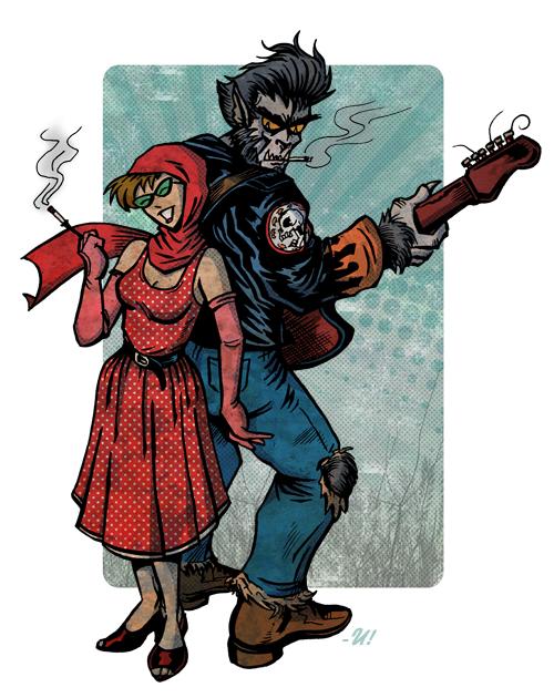Ginny & Clutch by Uriel A. Duran