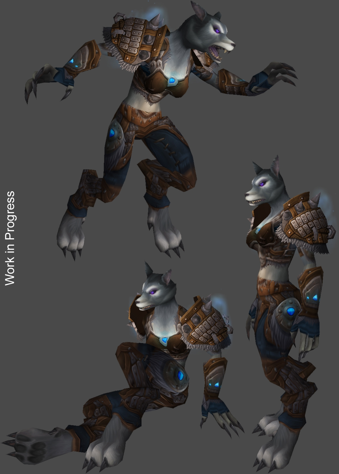 Blizzard Reveals Wow Cataclysm S Female Worgen Werewolf News