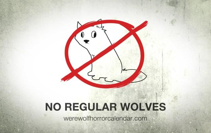 No Regular Wolves