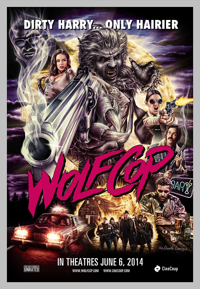WolfCop Poster