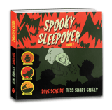 "Spooky Sleepover Kickstarter featuring ""Dinner and a Werewolf"" featured image"