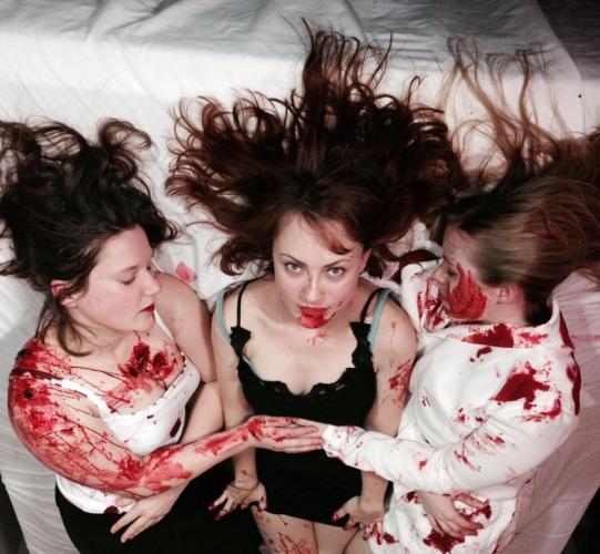 "Teaser & photos for Fangoria editor's trippy erotic horror film ""Female Werewolf"" featured image"
