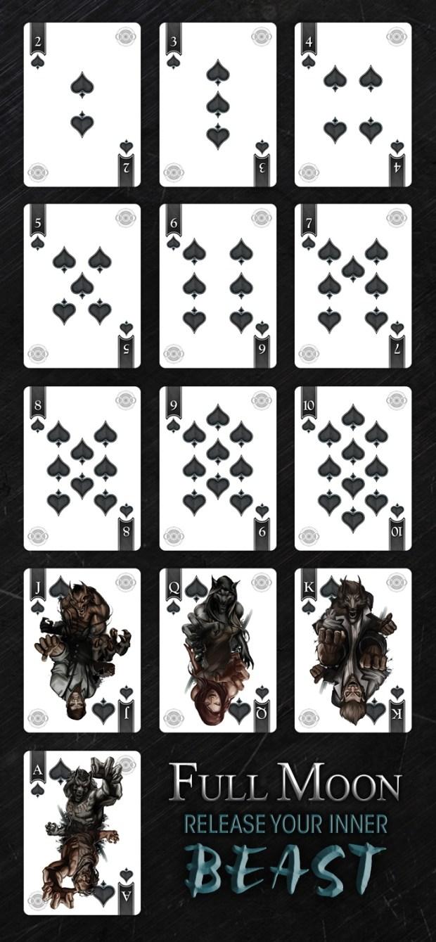 Werewolf cards sample