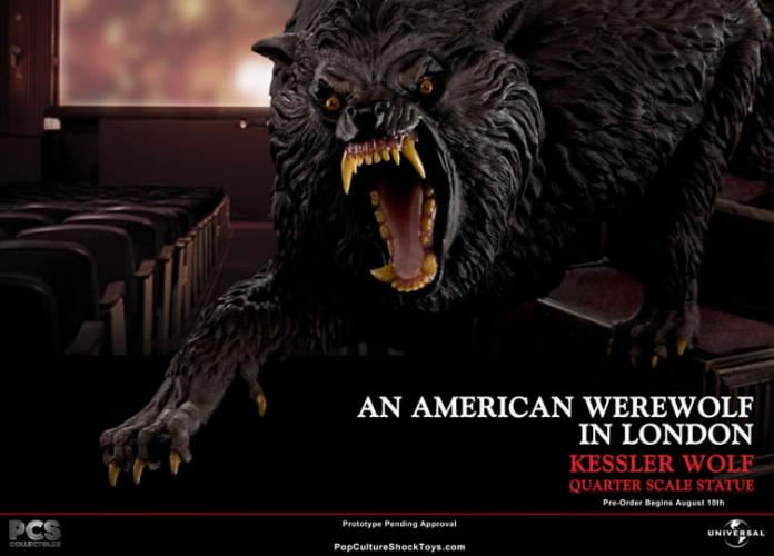 "1:4 Scale ""An American Werewolf In London"" bust from Pop Culture Shock Toys featured image"