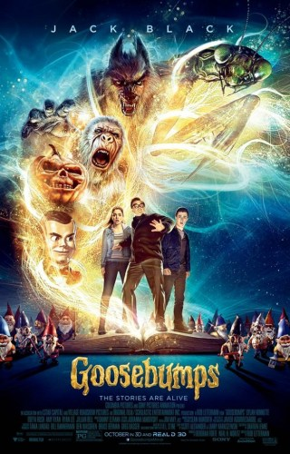 "Werewolf gets top position in poster for upcoming ""Goosebumps"" movie featured image"
