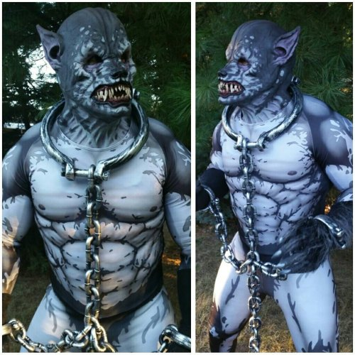 Complete your werewolf costume with a custom-painted bodysuit featured image