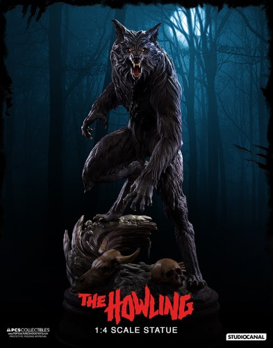 "PCS Collectibles announces killer 1:4 ""The Howling"" werewolf statue featured image"
