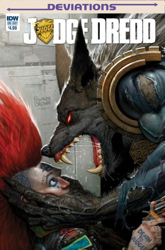 """1983: """"What if Judge Dredd was a werewolf for a bit?"""" 2017: """"What if he never changed back?"""" featured image"""