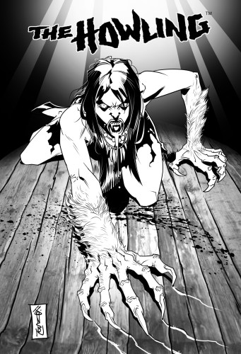 """The Howling"" gets an official follow-up comic & board game with ""Revenge of the Werewolf Queen"" featured image"