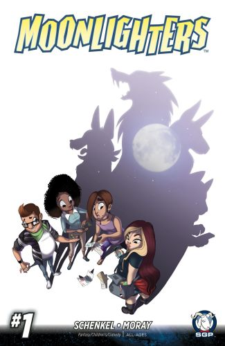 "Pre-order ""Moonlighters"", a comic about college-age werewolves for hire featured image"