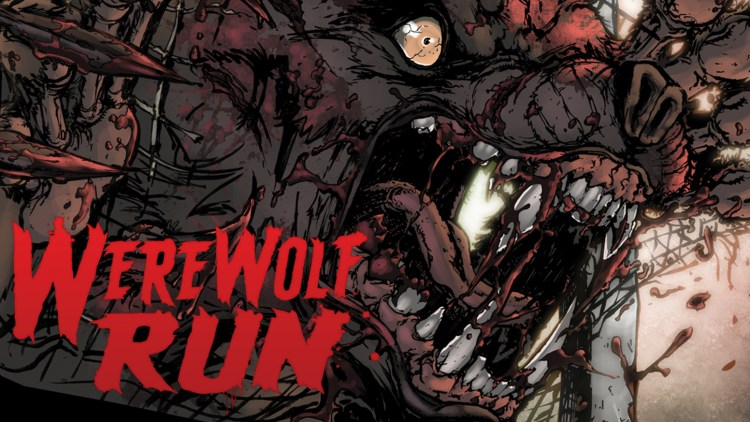 "Indie werewolf horror comic ""WereWolf Run"" shows why putting ""werewolf attack"" on your auto insurance is a good idea featured image"