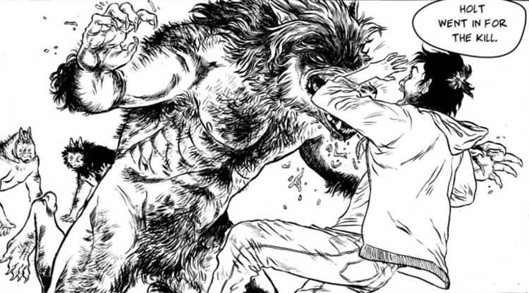 "Make some ""Evil Friends"" with Tatum Howlett's nasty new werewolf comic featured image"