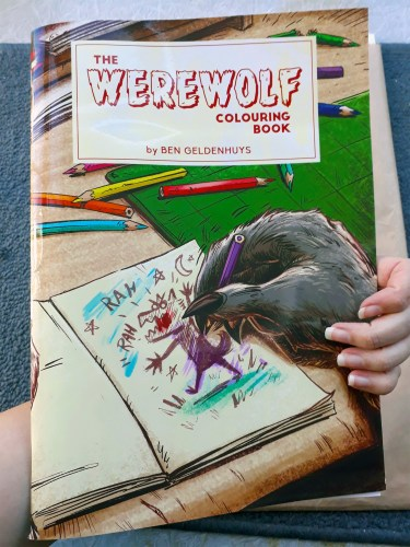 """The Werewolf Colouring Book"" is fun for lycanthropes of all ages featured image"
