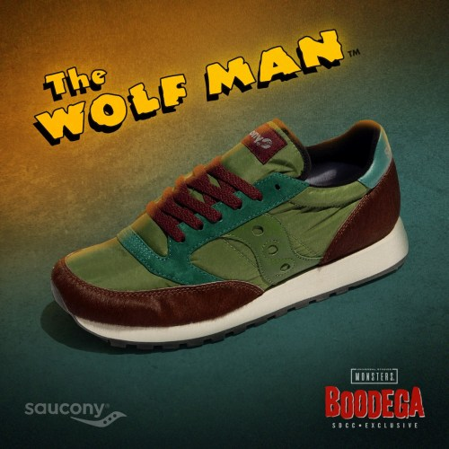 "SDCC pop-up shop debuts limited-edition, low-appeal ""The Wolf Man"" shoes featured image"