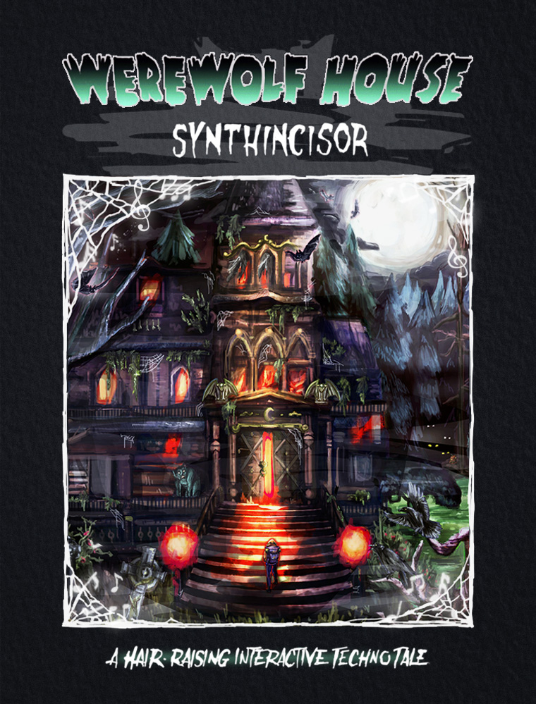 Werewolf House: Synthincisor is the kind of weird, wonderful werewolf game that could only exist online featured image