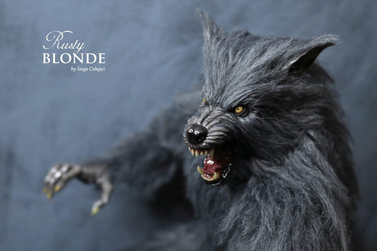 Hyper-realistic 1/6th scale werewolf figurine by Imge Celepci featured image