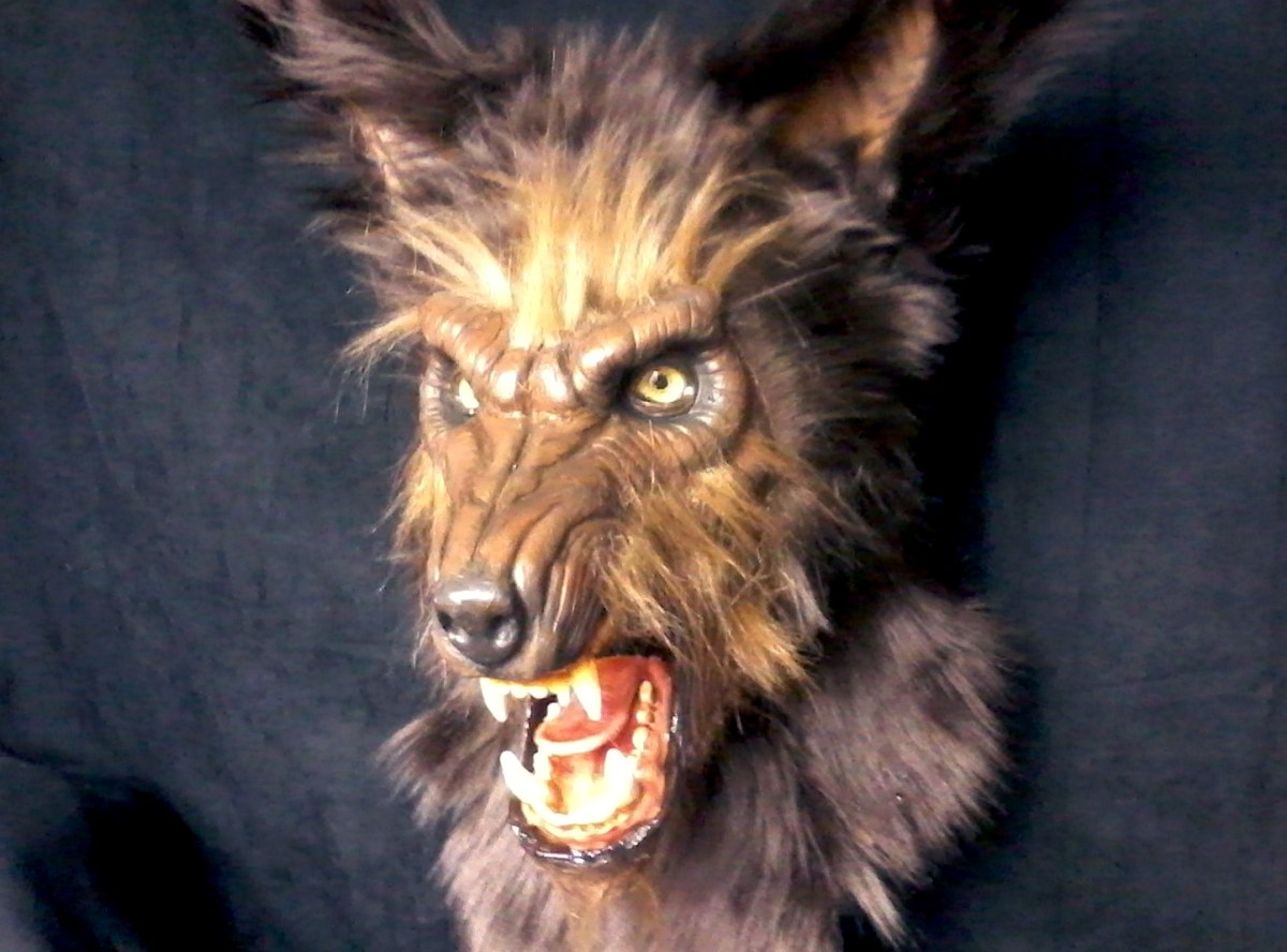 Made-to-order werewolf masks, cheap featured image