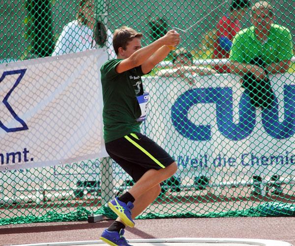 Die Gewinner im CWK Hammerwurf-Cup