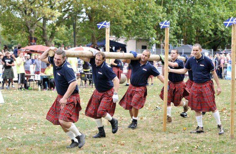 Highland Games Saison eröffnet