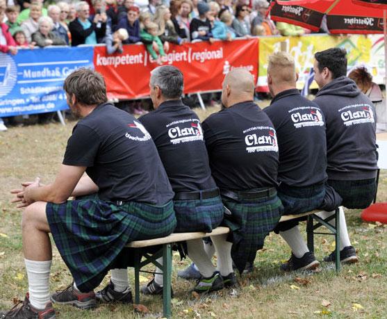 Clan der McWechselbürger siegt bei Highland Games