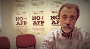Luis Mesina Vocero Coordinadora Nacional de Trabajadores No más AFP