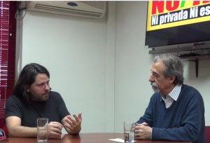 Alberto Mayol y Luis Mesina