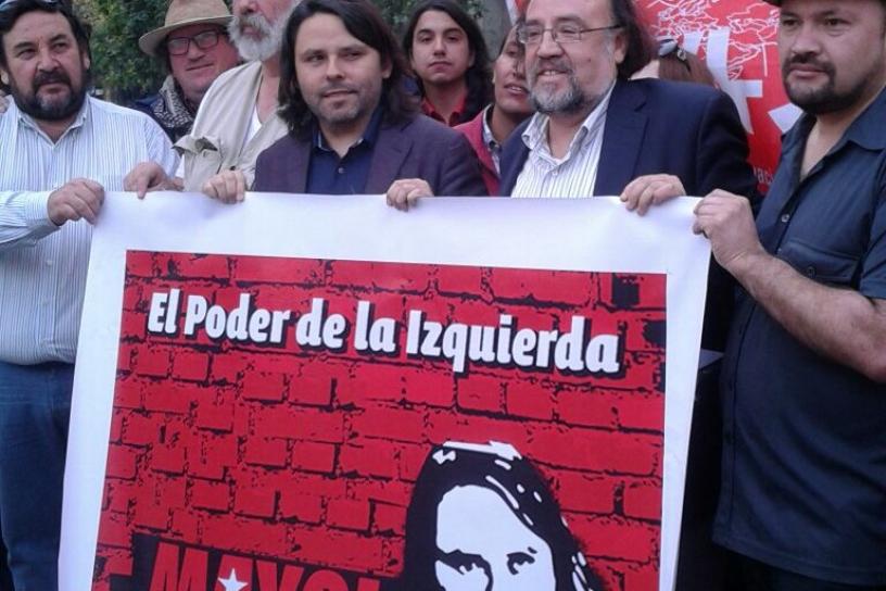 Chile - Socialismo Allendista proclamó a Alberto Mayol como su candidato presidencial