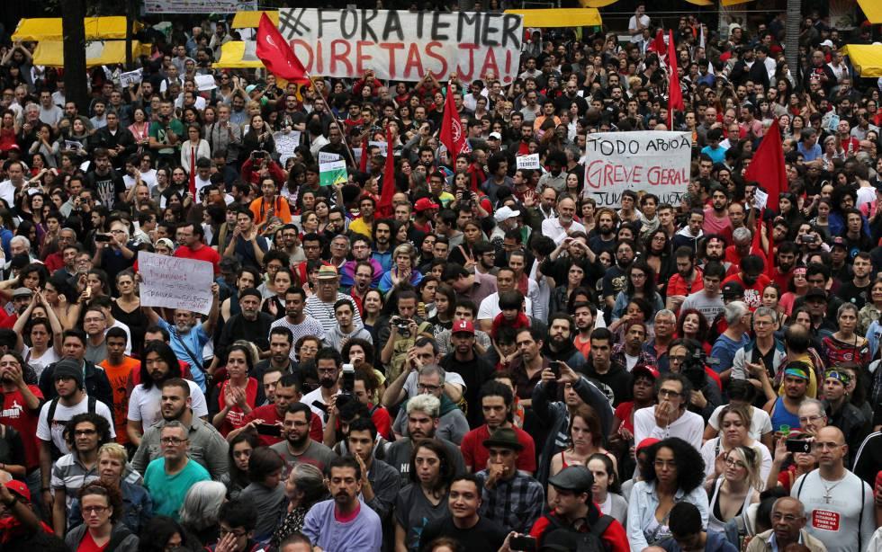 Brasil - ¡Derribar las contrarreformas y a Temer juntos!