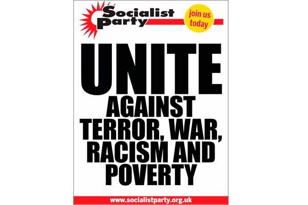 Gran Bretaña - Atentado en Manchester: Unidos contra el terrorismo, la guerra y el racismo