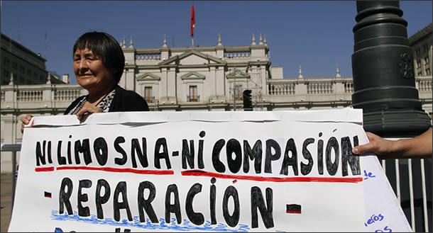 Chile - Torturadores con Pensiones Fraudulentas versusEx Presos Políticos Torturados Movilizados
