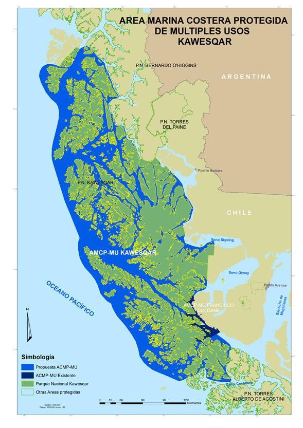 """Chile - Cantos de Sirena y la """"EVENTUAL"""" creación del Área Marina Protegida Kawesqar"""