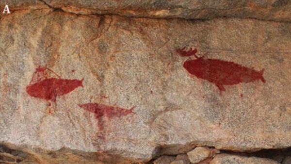 Chile - Las impresionantes pinturas de 1.500 años de antigüedad descubiertas al sur de Antofagasta