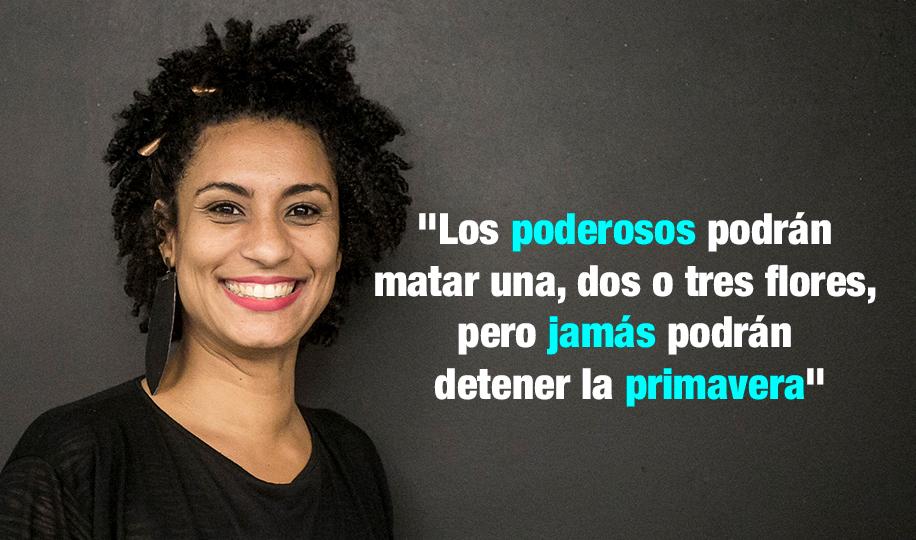 Brasil -¡Transformar el duelo en lucha!   Concejala Marielle Franco del PSOL ejecutada en Rio do Janeiro